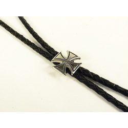 Leather cravat, cross