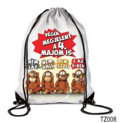 Vicces tornazsák, Végül megjelent a 4. majom is
