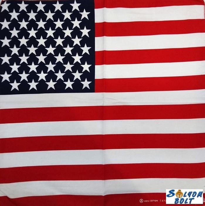 f1a6bff633 Amerikai zászló mintás kendő - Ajándéktárgyak,neves és vicces ...