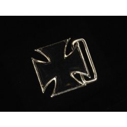 Belt buckle, cross