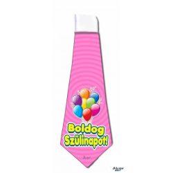 Nyakkendő, Boldog szülinapot, rózsaszín
