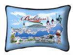 Balaton díszpárna, városok