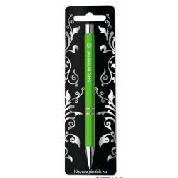 Gravírozott toll, Soha ne add fel, zöld