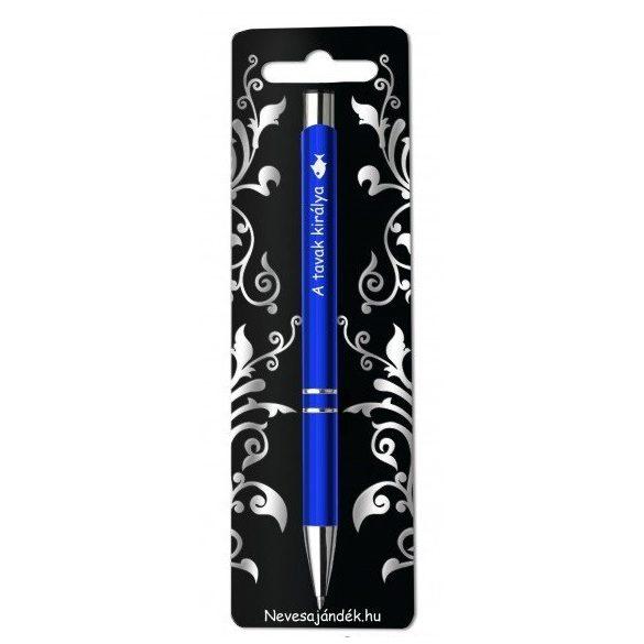 Gravírozott toll, A tavak királya, kék