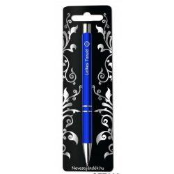 Gravírozott toll, Lelkes tanuló, kék