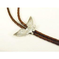 Leather cravat, eagle