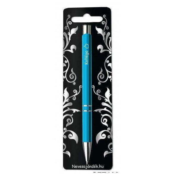 Gravírozott toll, Kolléga, kék