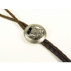 Leather cravat, boar