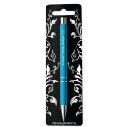 Gravírozott toll, A konditerem királya, kék