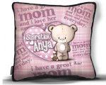 Kicsi díszpárna, Anyák napja, Szeretlek Anya