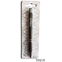 Feliratos gravírozott toll, Hiányzol, szerelmes ajándék