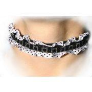 Lace neckband