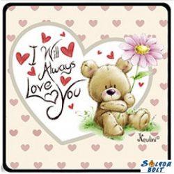Szerelmes hűtőmágnes, I will always love you, maci