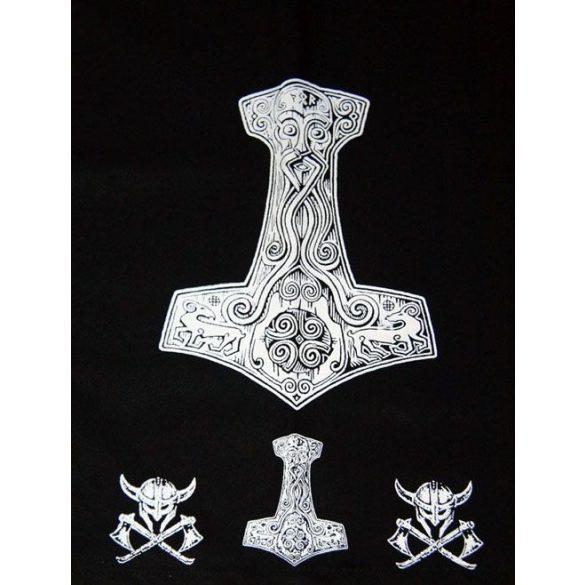 Háromszögű Thor kalapács kendő