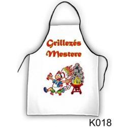 Szakács kötény, A grillezés mestere