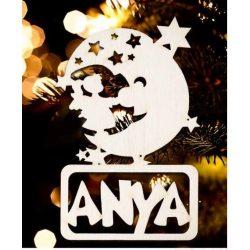 Karácsonyfa dísz, Anya, hold