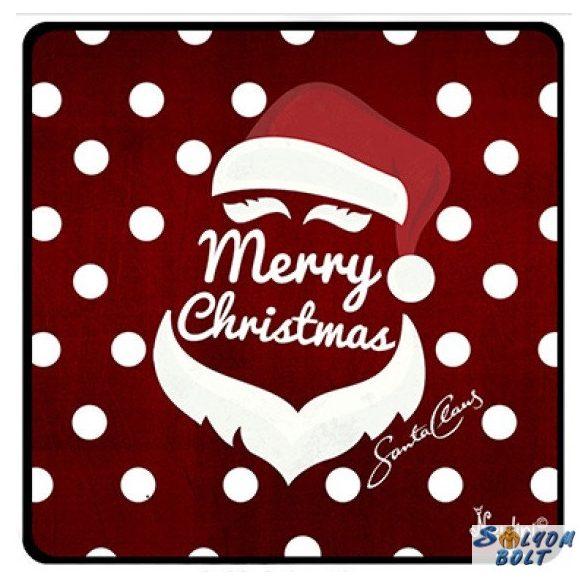 Karácsonyi hűtőmágnes, Merry Christmas, Santa Claus