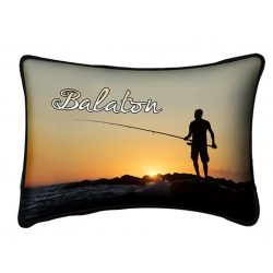 Balaton díszpárna, horgász