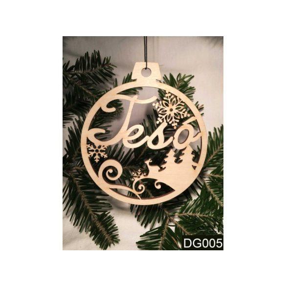 Karácsonyfa dísz, Tesó