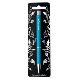 Gravírozott toll, Imádlak, kék