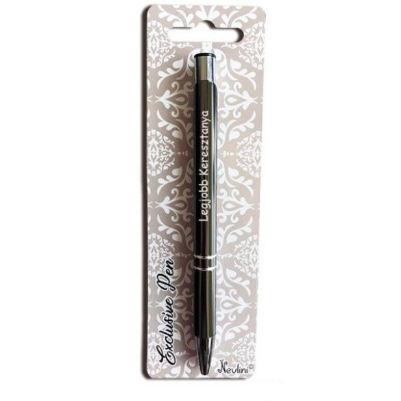 Gravírozott toll, Legjobb keresztanya