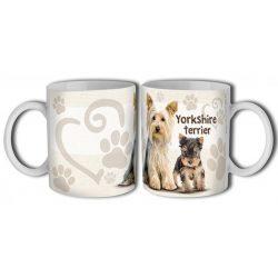 Kutyás bögre, Yorkshire terrier