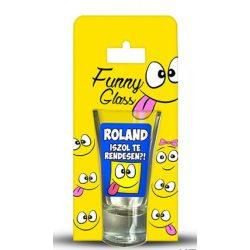 Roland pálinkás pohár