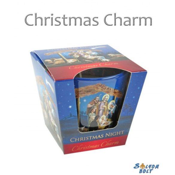 Illatgyertya pohárban, Christmas Night, Christmas Charm, karácsony