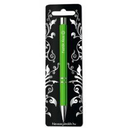 Gravírozott toll, Festők ásza, zöld