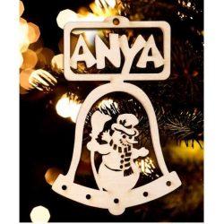 Karácsonyfa dísz, Anya, hóember