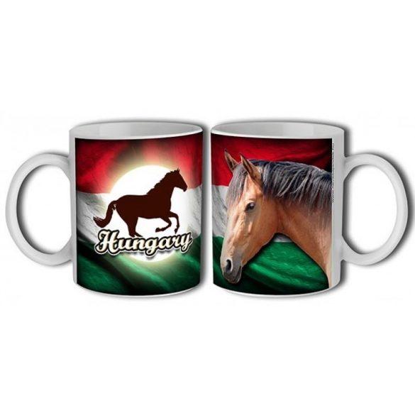 Lovas bögre, Hungary barna ló