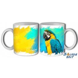 Papagájos bögre