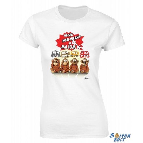 Vicces női póló, Végül megjelent a 4. majom is