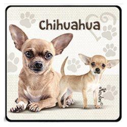 Kutyás hűtőmágnes, Chihuahua