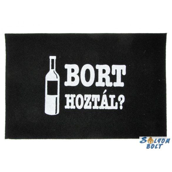 Vicces lábtörlő, Bort hoztál?