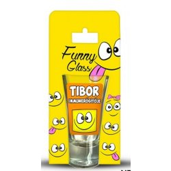 Tibor pálinkás pohár