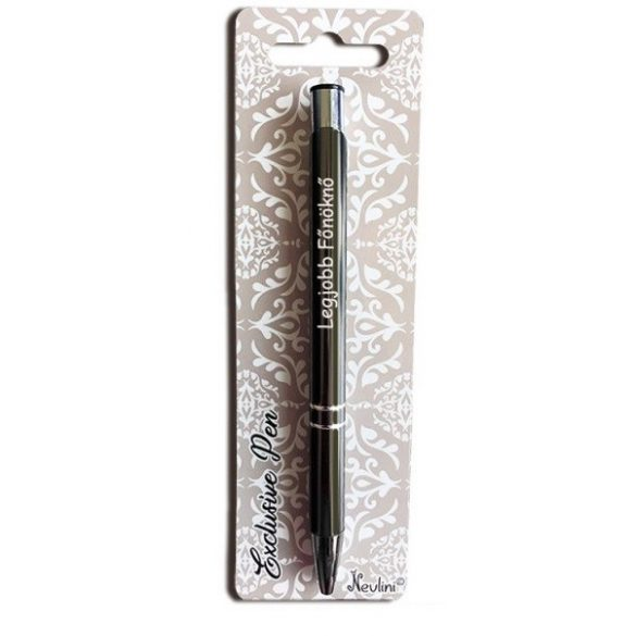 Gravírozott toll, Legjobb főnöknő