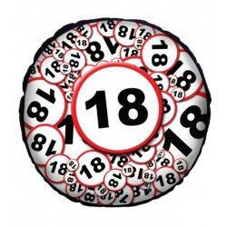Körpárna, Boldog születésnapot, számok középen
