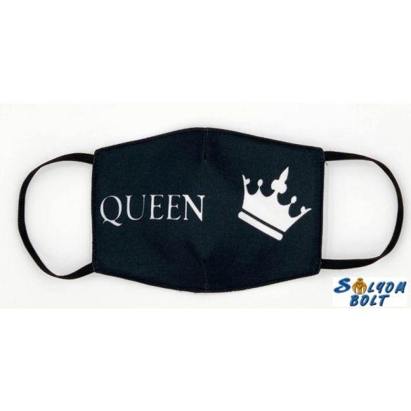 Vicces szájmaszk, királynő, Queen