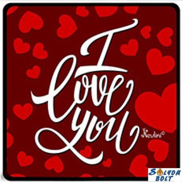 Szerelmes hűtőmágnes, I love you