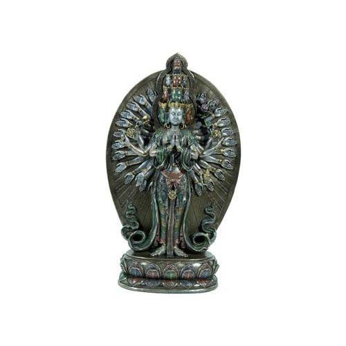 Avalokitesvara álló szobor