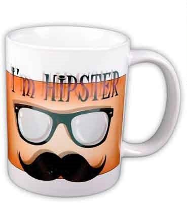 48ebf4247718 Vicces bögre, I'm Hipster (Hipster vagyok) - Ajándéktárgyak,neves és ...
