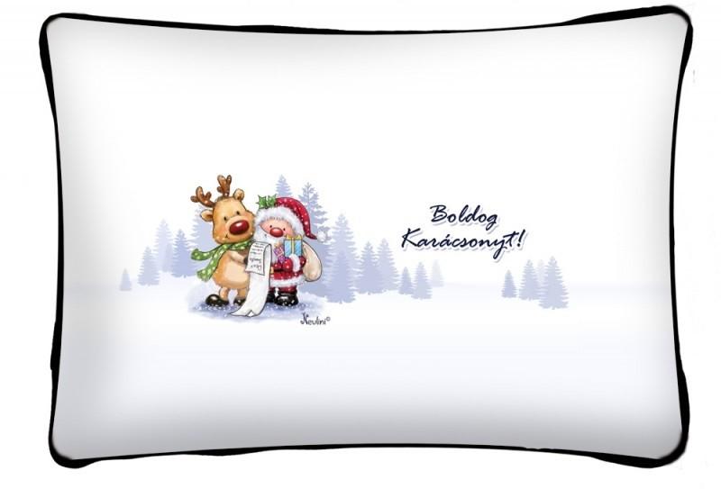 Díszpárna karácsonyra 74886d3643