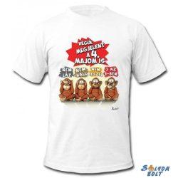 Vicces póló, Végül megjelent a 4. majom is