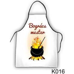 Szakács kötény, Bogrács mester