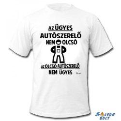 Vicces póló, Az ügyes autószerelő nem olcsó