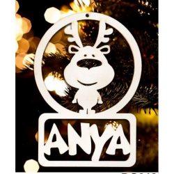 Karácsonyfa dísz, Anya, rénszarvas