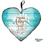 Szív alakú párna, Anyák napja, Legjobb anya