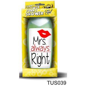 Tusfürdő, Mrs always Right