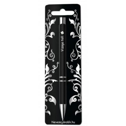 Gravírozott toll, Vizsga toll
